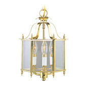 Traditional Home Basics Semi Flush Mount/Chain Hung Fixture - Livex Lighting 4403-02