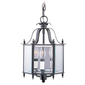 Traditional Home Basics Semi Flush Mount/Chain Hung Fixture - Livex Lighting 4403-07