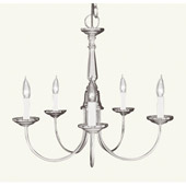 Traditional Home Basics Chandelier - Livex Lighting 6030-91