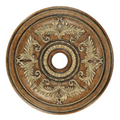 Traditional Savannah Ceiling Medallion - Livex Lighting 8210-57