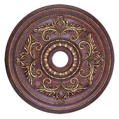 Traditional Villa Verona Ceiling Medallion - Livex Lighting 8210-63