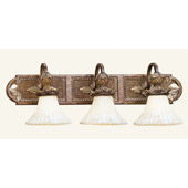 Traditional Savannah Vanity Light - Livex Lighting 8463-57