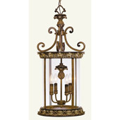 Traditional Savannah Lantern - Livex Lighting 8474-57