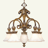 Traditional Savannah Chandelier - Livex Lighting 8475-57