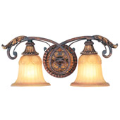 Traditional Villa Verona Vanity Light - Livex Lighting 8552-63