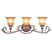 Traditional Villa Verona Vanity Light - Livex Lighting 8553-63