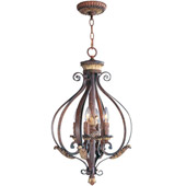 Traditional Villa Verona Lantern - Livex Lighting 8556-63