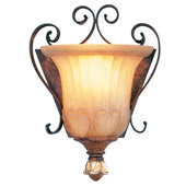 Traditional Villa Verona ADA Complient Wall Sconce - Livex Lighting 8560-63