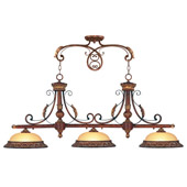 Traditional Villa Verona Island Light - Livex Lighting 8584-63