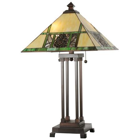 Meyda 103380 Pinecone Table Lamp