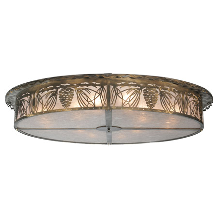 Meyda 107572 Mountain Pine Flush Mount Ceiling Fixture