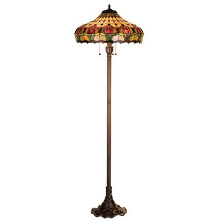 home lamps floor lamps standard floor lamps meyda 11070. Black Bedroom Furniture Sets. Home Design Ideas