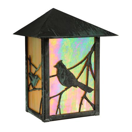 Meyda 143071 Seneca Song Bird Wall Sconce