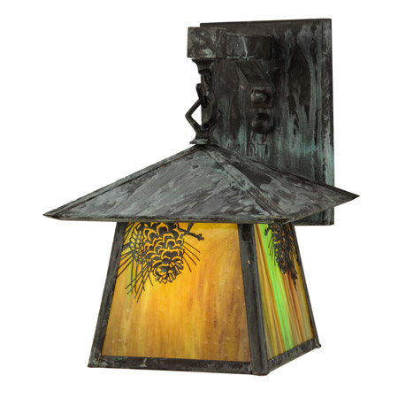 Meyda 145947 Stillwater Winter Pine Wall Sconce