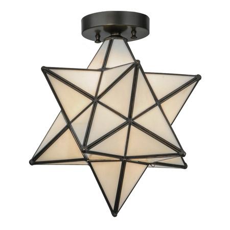 Meyda 148882 Moravian Star Flush Mount Ceiling Fixture