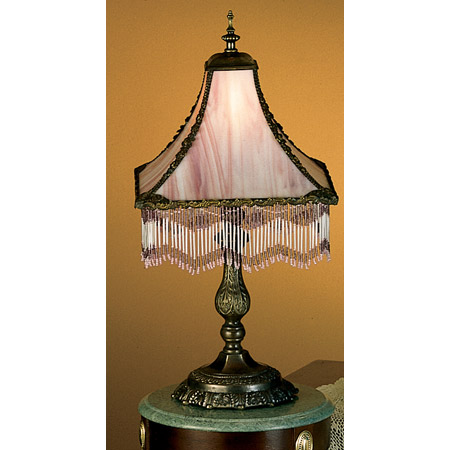 Meyda 28405 Fringed Table Lamp