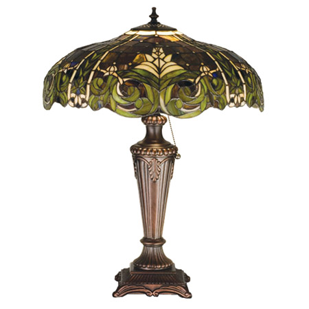 Meyda 30386 Tiffany Bavarian Table Lamp