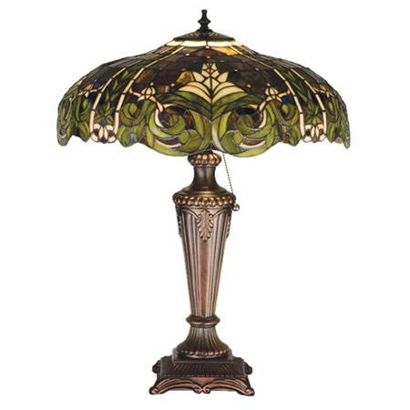 Meyda 30386 Tiffany Bavarian Table Lamp