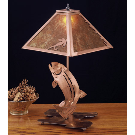 Meyda 32532 Trout Table Lamp