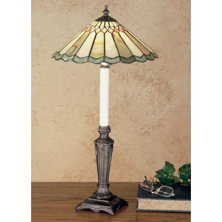Meyda 48384 Tiffany Jadestone Carousel Buffet Lamp