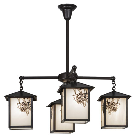 Meyda 60911 Seneca Winter Pine Chandelier