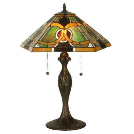 Meyda 81458 tiffany moroccan table lamp aloadofball Images
