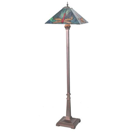 home lamps floor lamps standard floor lamps meyda 99763. Black Bedroom Furniture Sets. Home Design Ideas