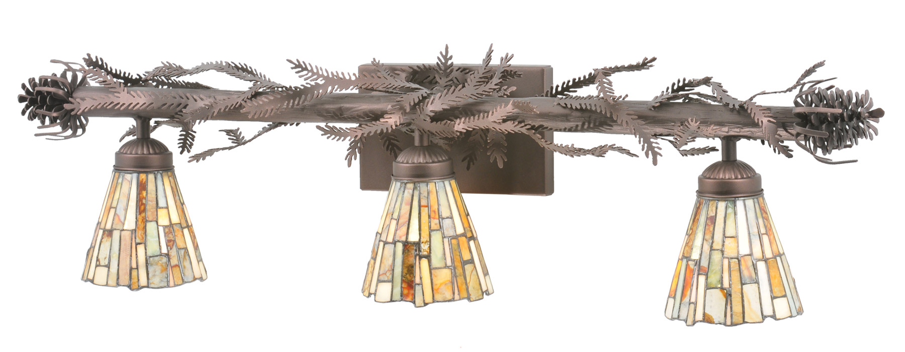 Meyda 107529 Pine Branch Vanity Light