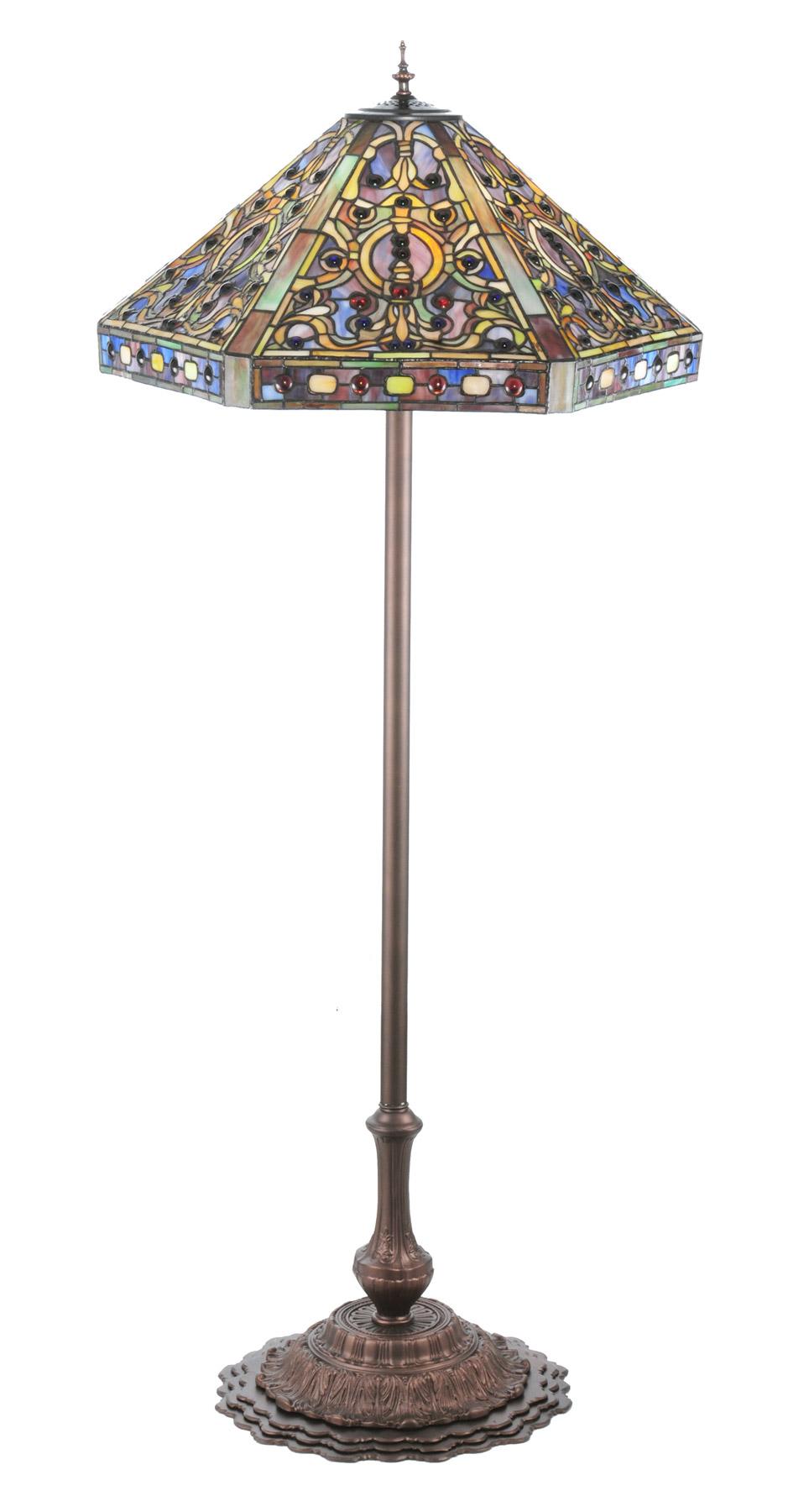 Meyda 107863 tiffany elizabethan floor lamp