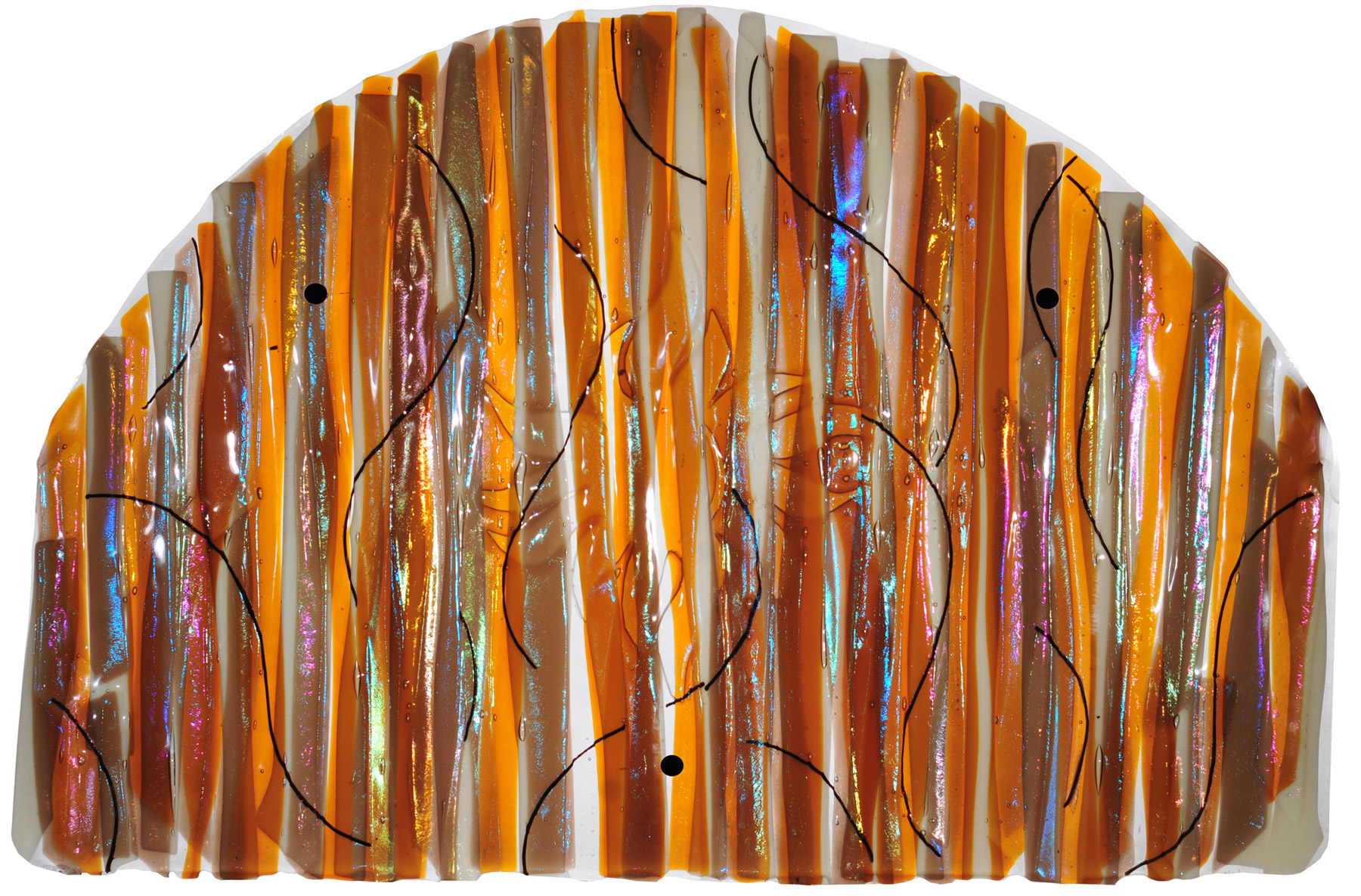 Wall Art Fused Glass : Meyda marina sun fused glass wall art