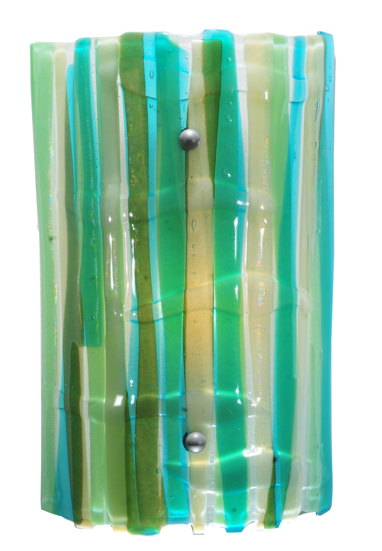 Fused Glass Wall Lamps : Meyda 108128 La Spiaggia Fused Glass Wall Sconce