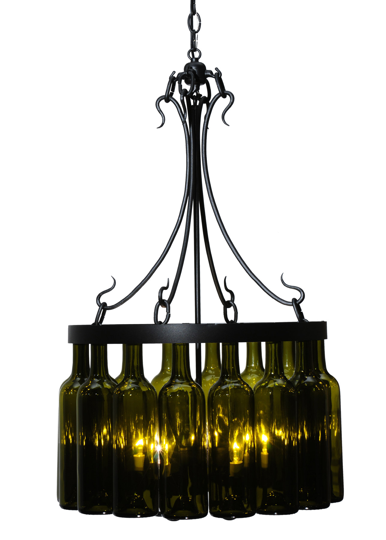 Meyda 114514 Tuscan Vineyard Mini Chandelier