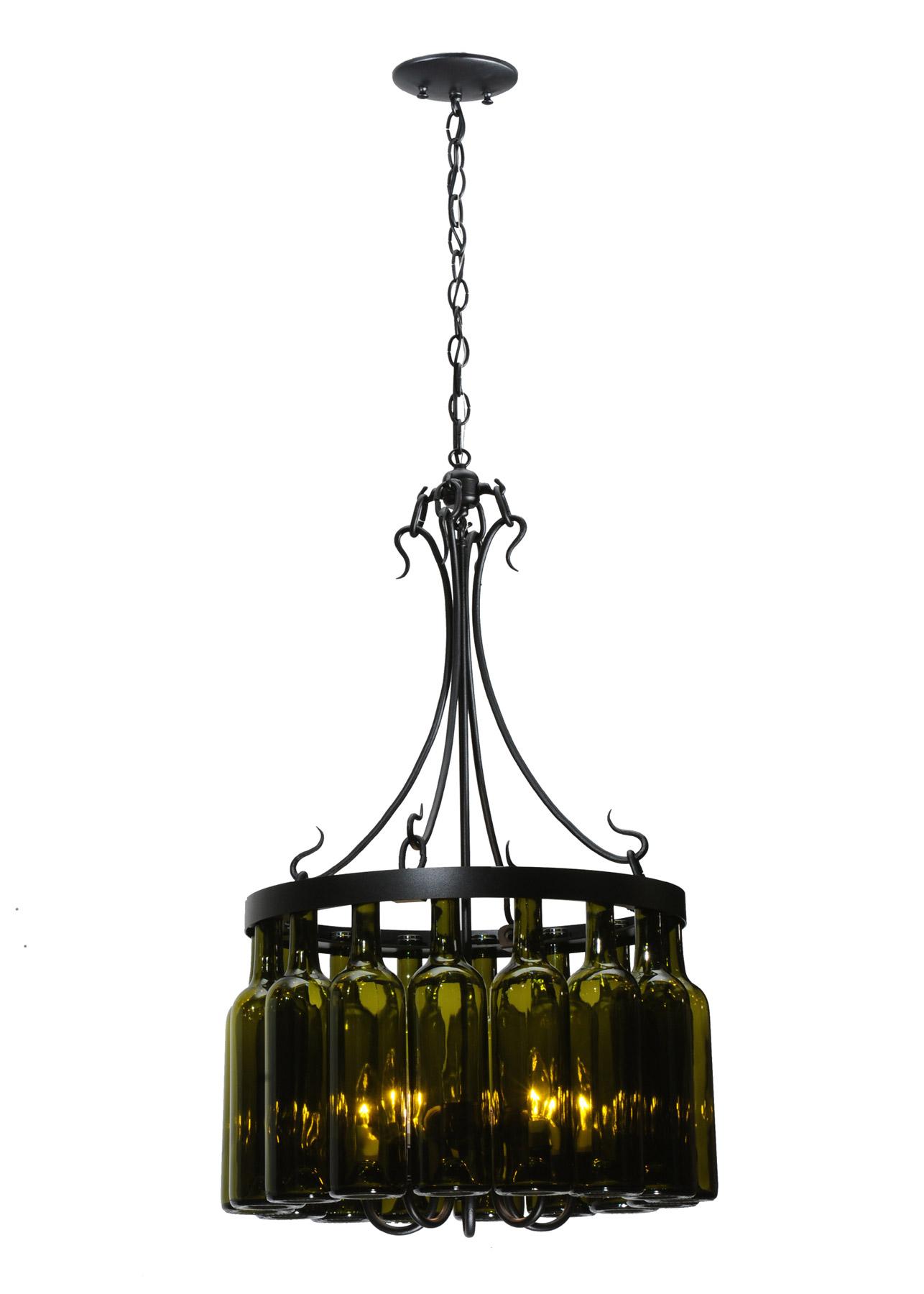 Meyda 114514 Tuscan Vineyard Mini Chandelier