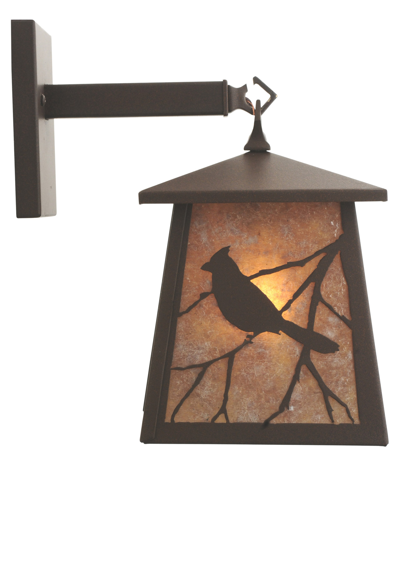 Wall Sconces With Birds : Meyda 115358 Stillwater Song Bird Wall Sconce