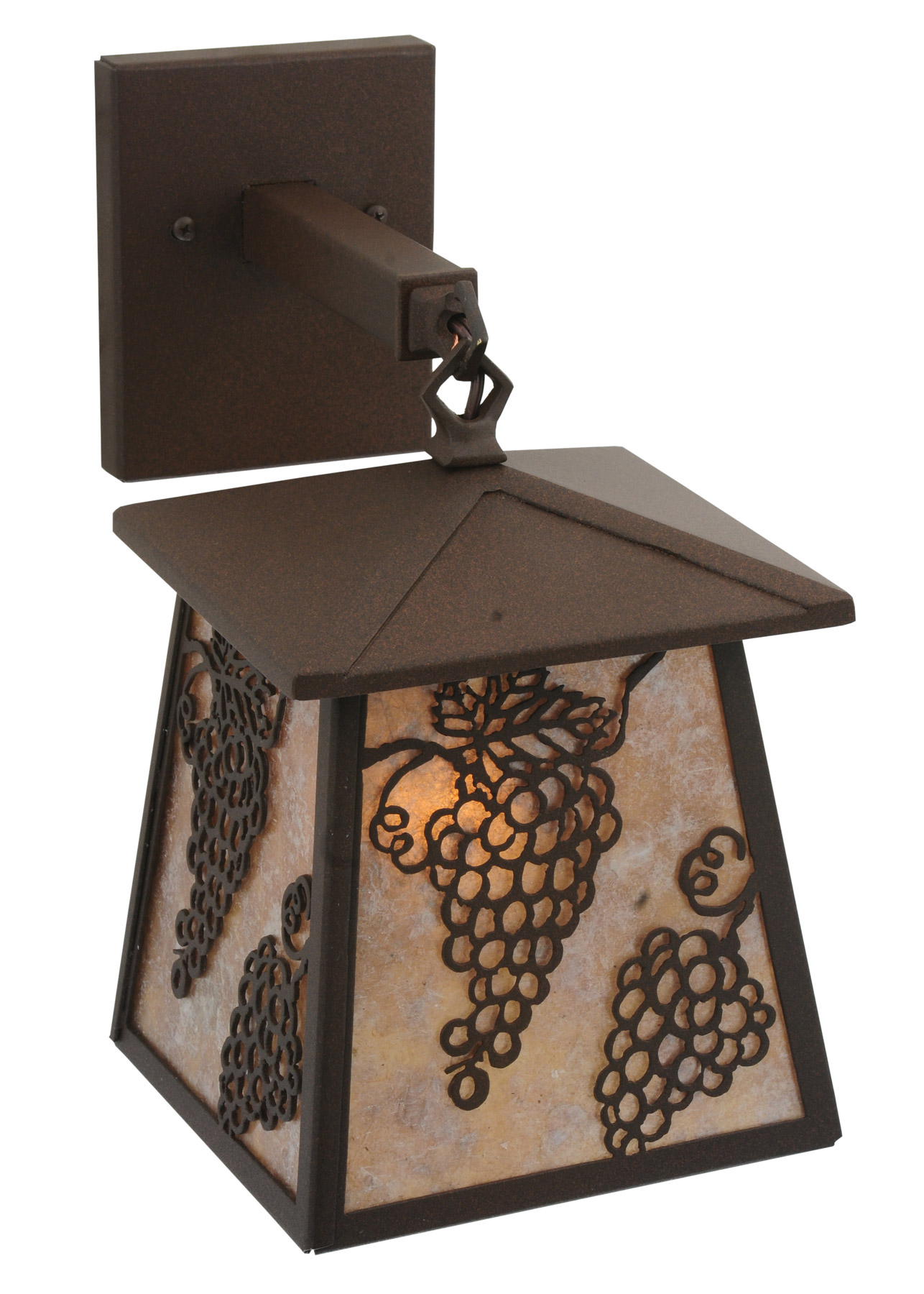 Wall Sconces With Grapes : Meyda 115361 Stillwater Grapes Wall Sconce