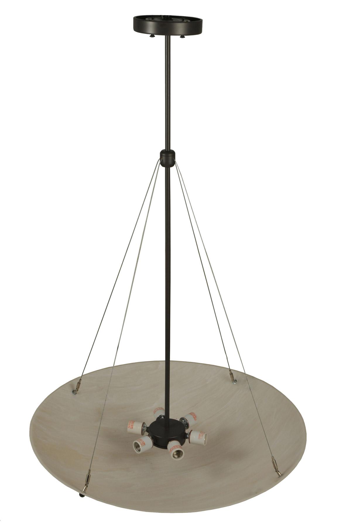 contemporary cypola inverted bowl pendant meyda 117691. Black Bedroom Furniture Sets. Home Design Ideas