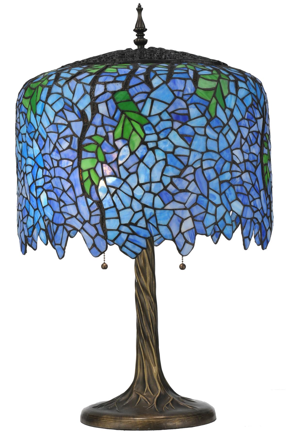Meyda 118689 Wisteria Table Lamp