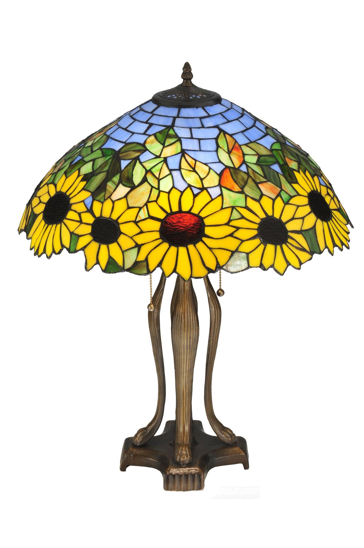 Meyda 119682 Sunflower Wild Table Lamp