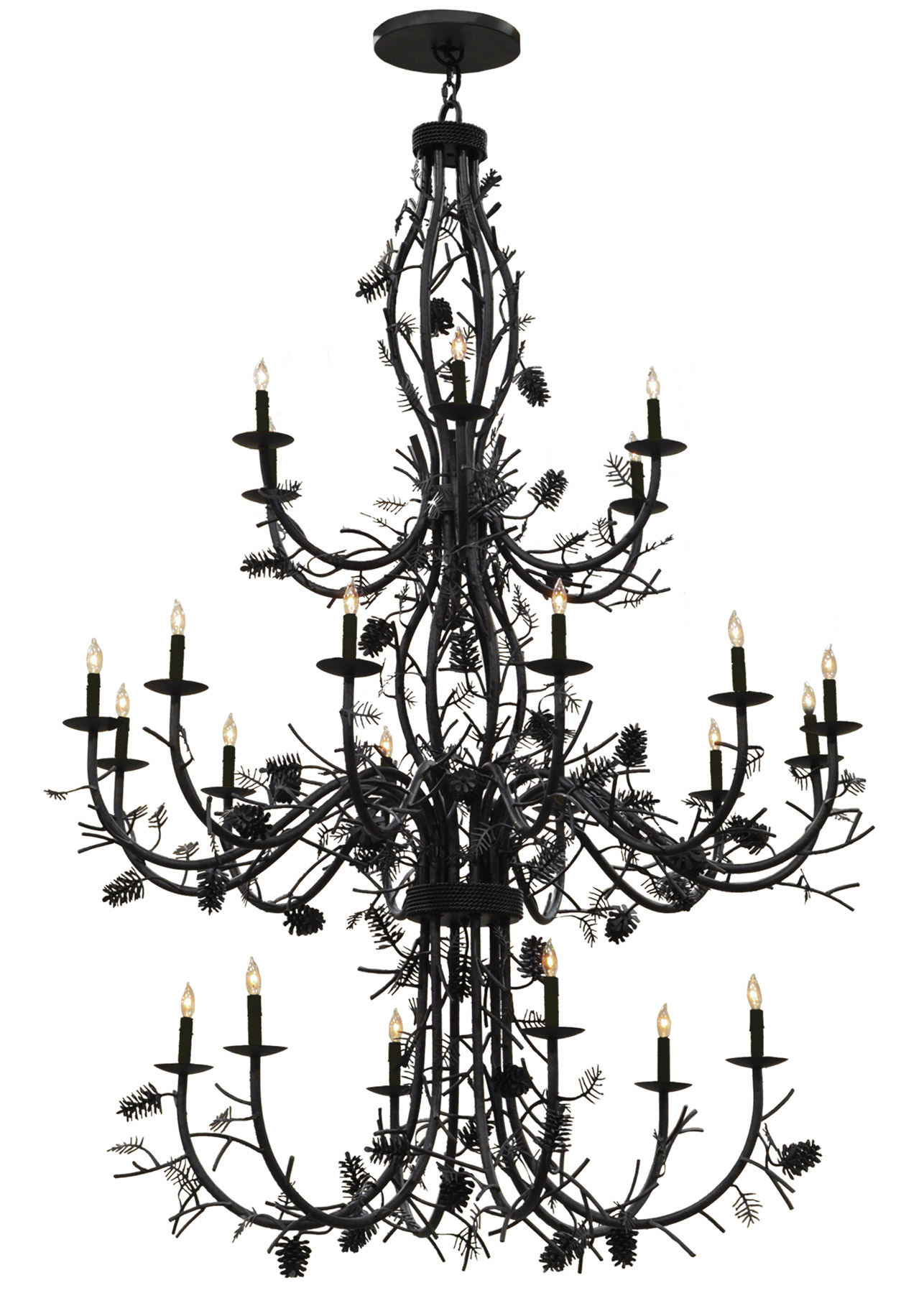 119768 pinecone chandelier meyda 119768 pinecone chandelier arubaitofo Choice Image