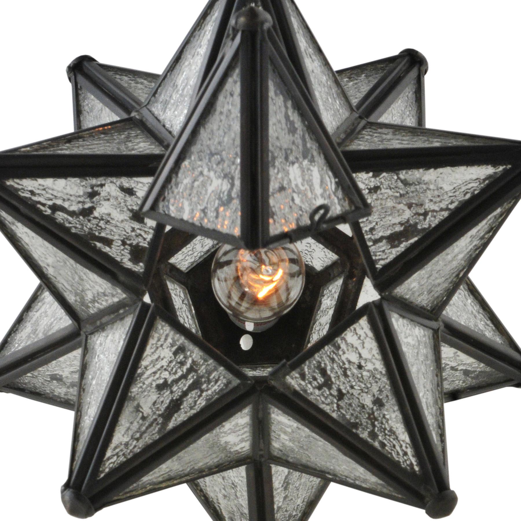 Meyda 119794 Moravian Star Wall Sconce
