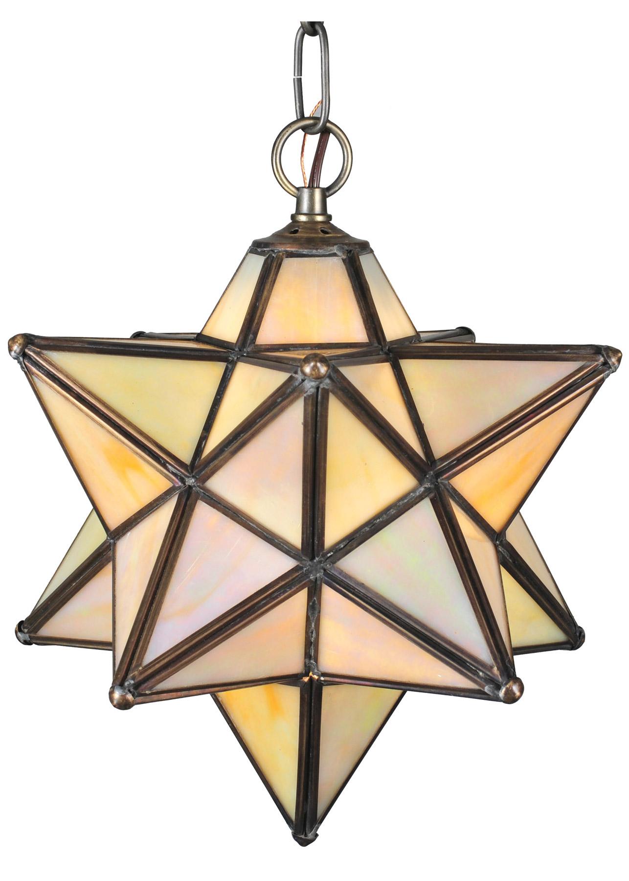 meyda 12133 moravian hanging pendant