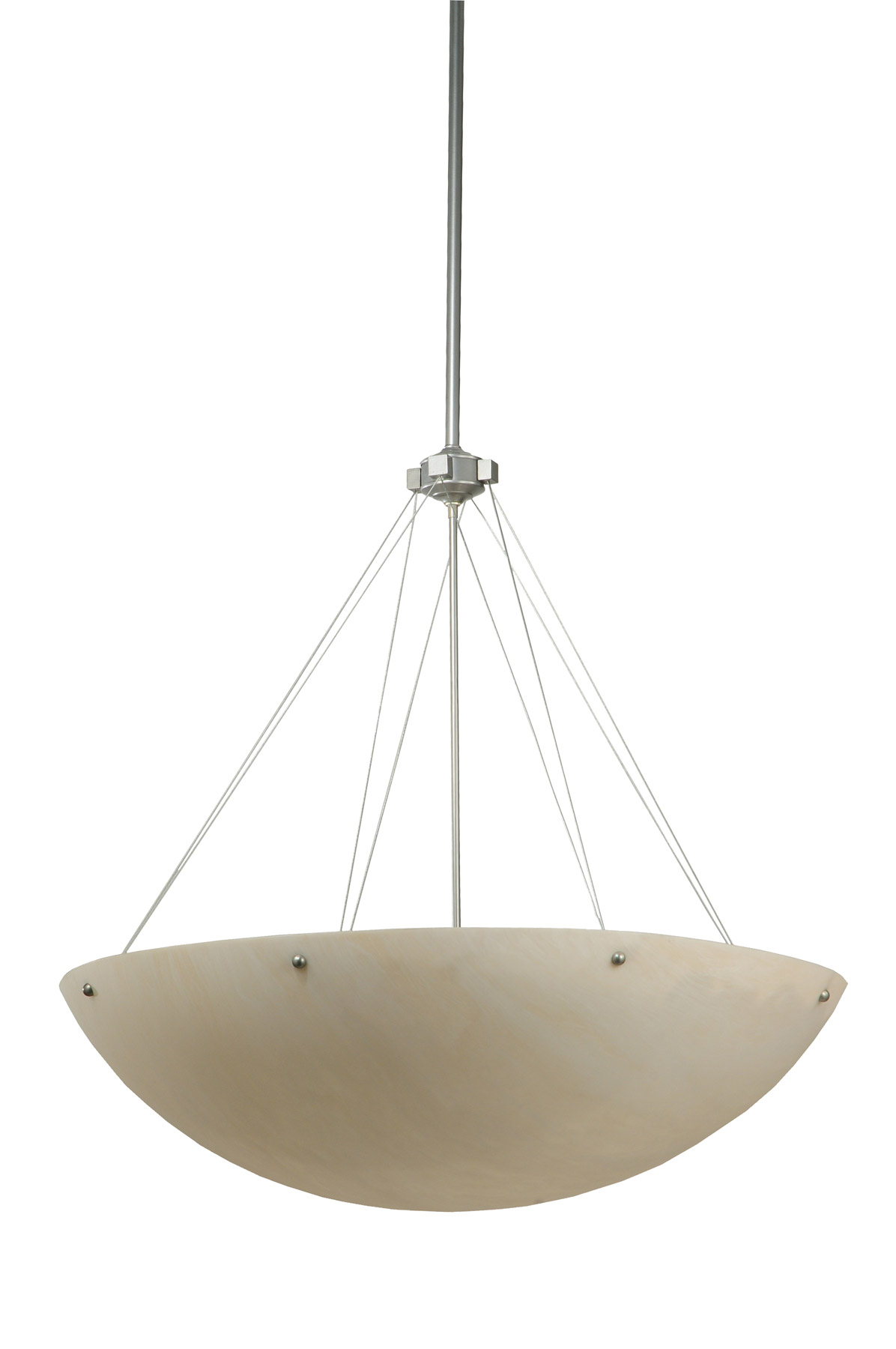 home ceiling lighting pendant hanging lamps inverted bowl pendants. Black Bedroom Furniture Sets. Home Design Ideas