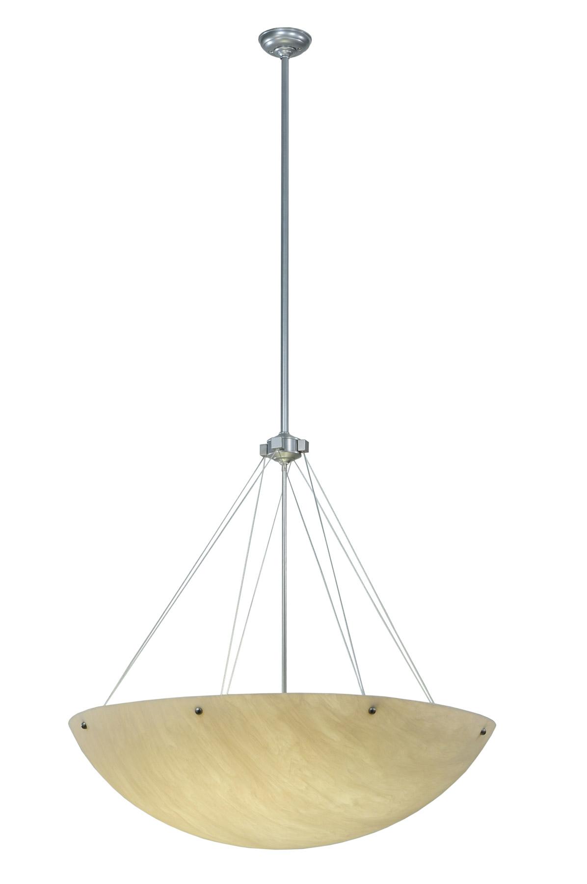 contemporary cypola inverted bowl pendant meyda 123137. Black Bedroom Furniture Sets. Home Design Ideas