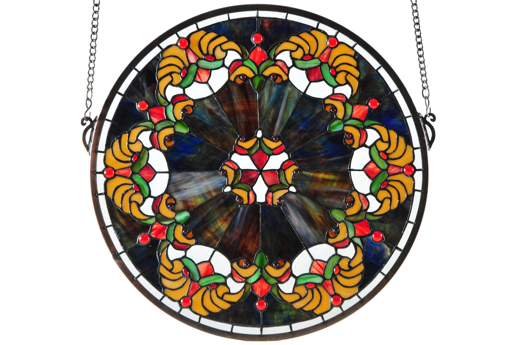 Meyda 127106 Middleton Medallion Stained Glass Window