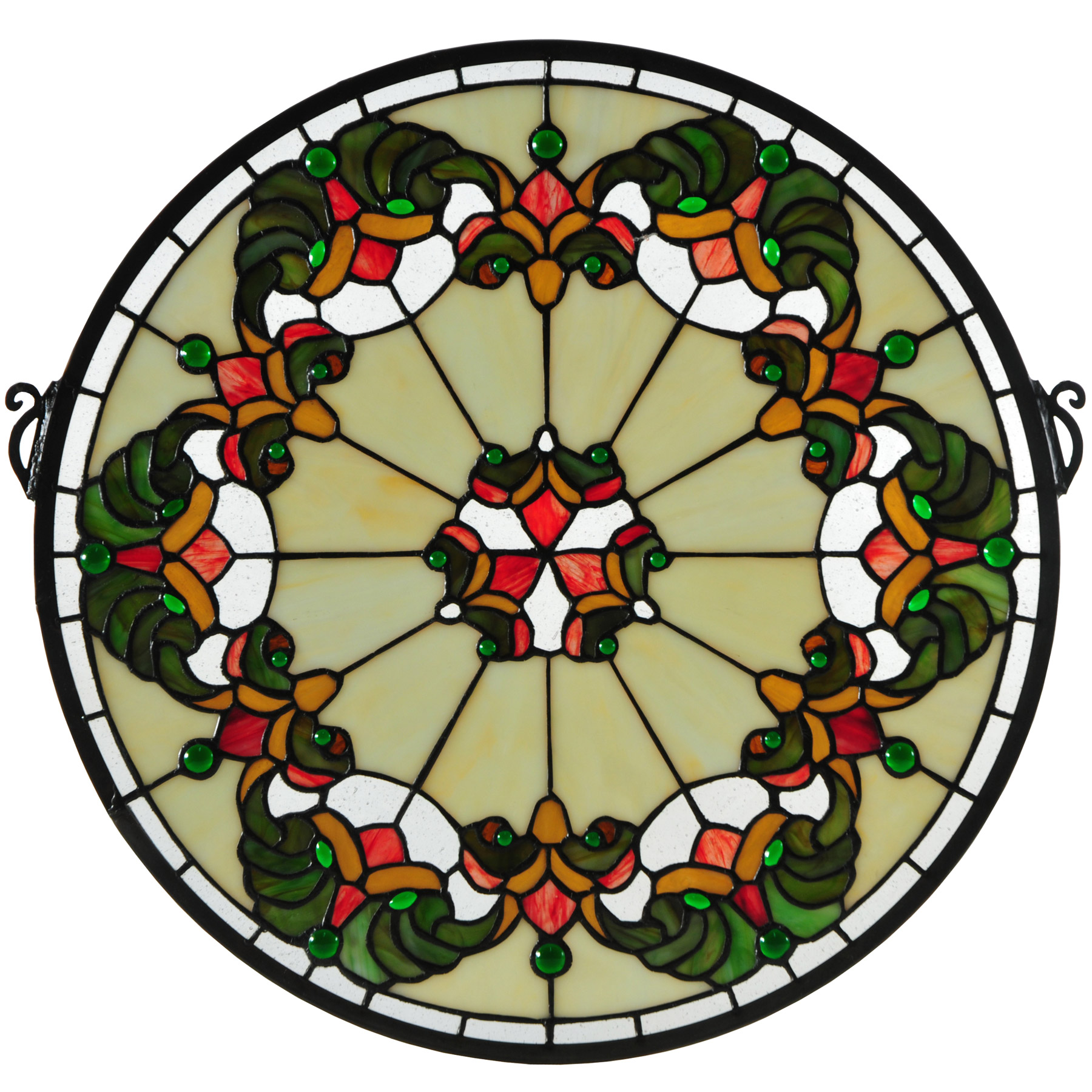 Meyda 127115 Middleton Medallion Stained Glass Window