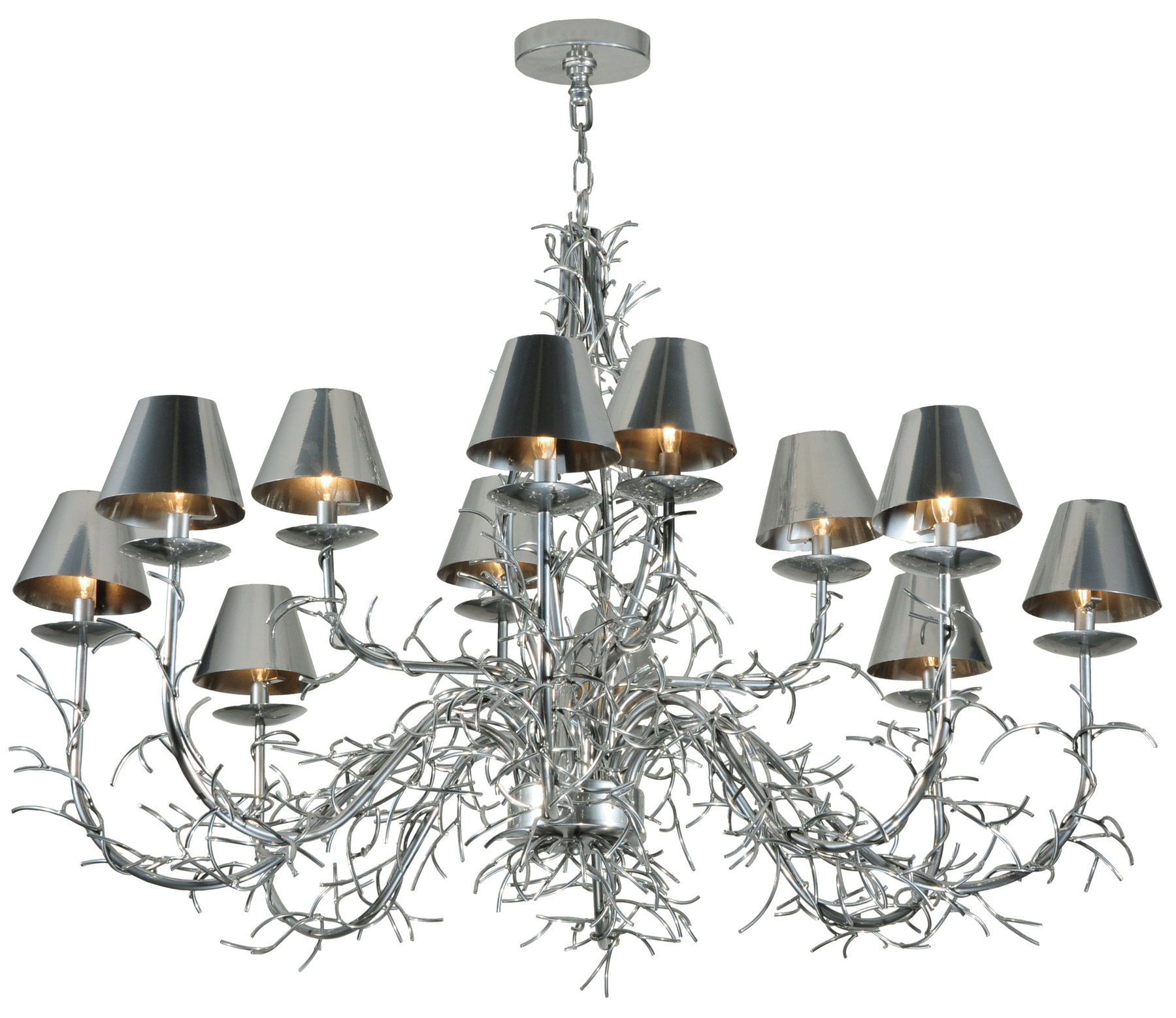 Meyda 127985 Twig Twelve Light Chandelier