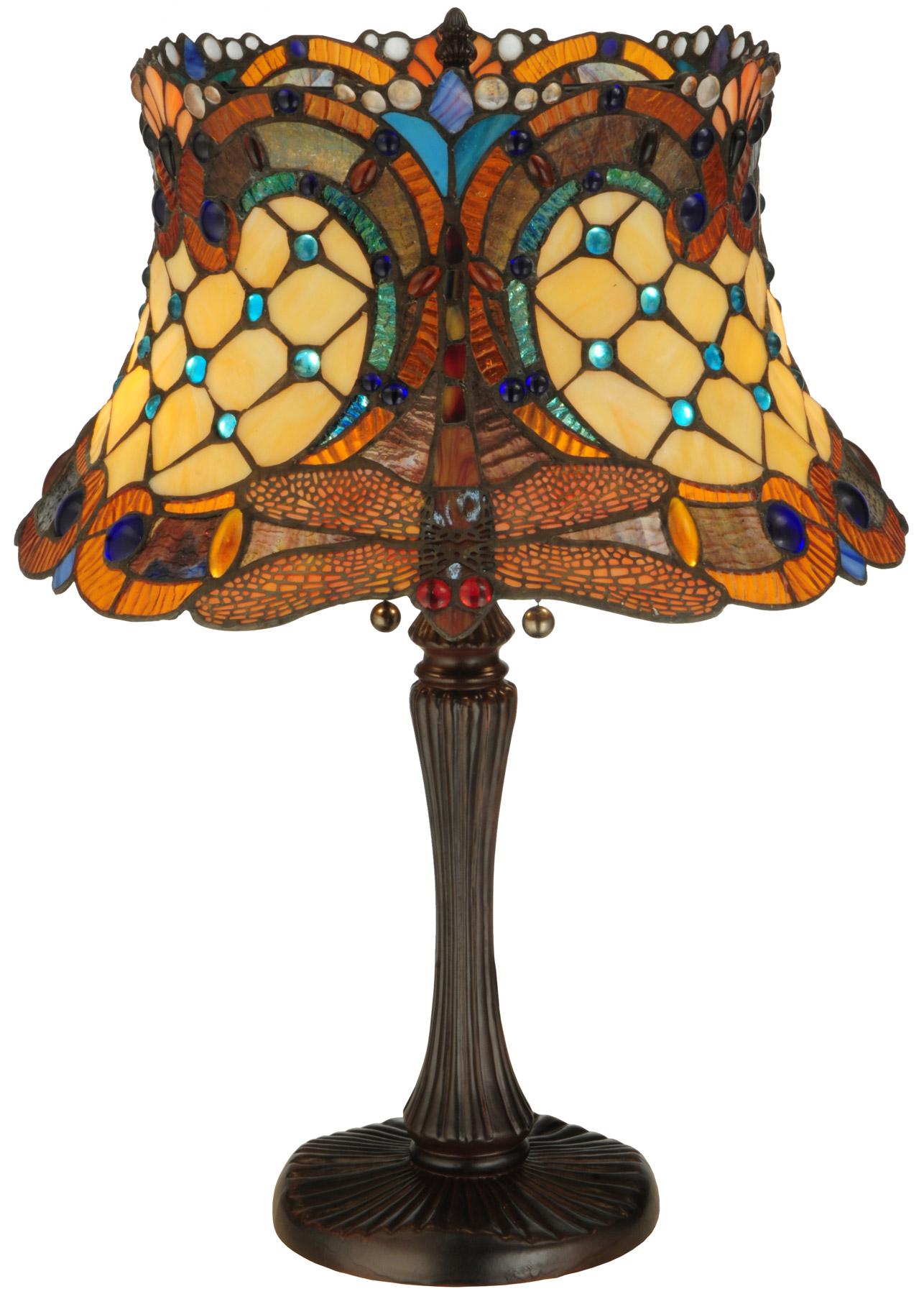 Meyda 130762 Hanginghead Dragonfly Table Lamp