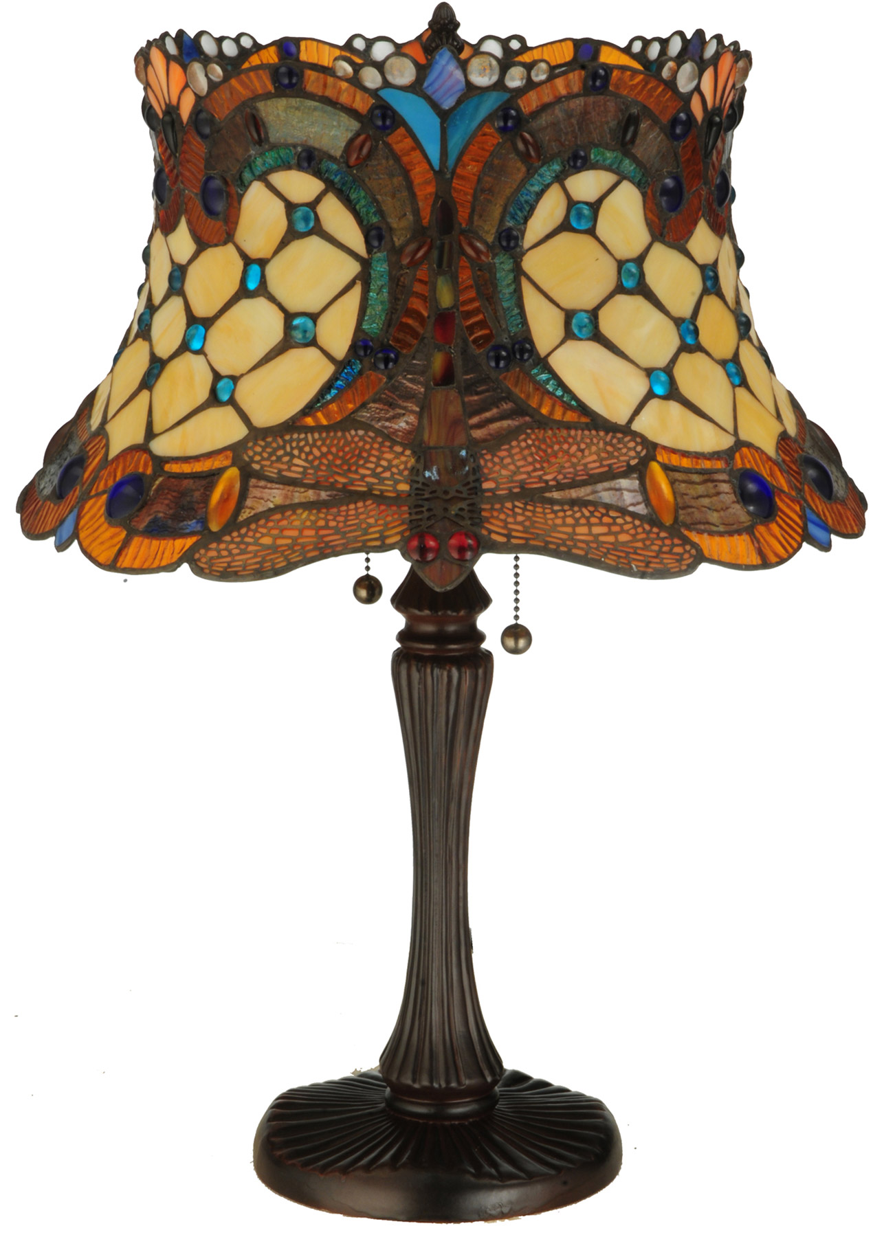 Meyda 130762 Hanginghead Dragonfly Table Lamp