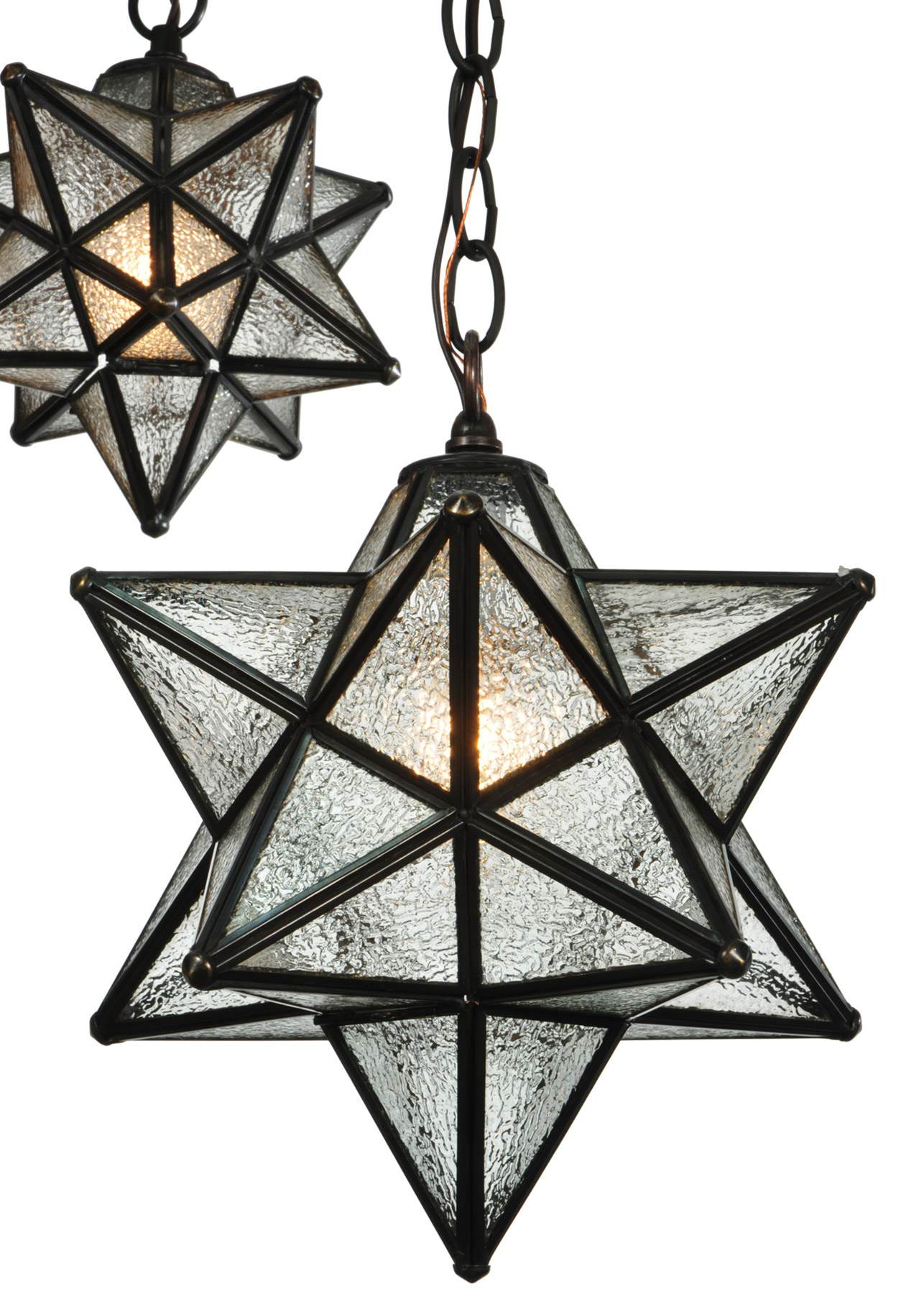 Meyda 130969 Moravian Star 3 Light Shower Multi Pendant