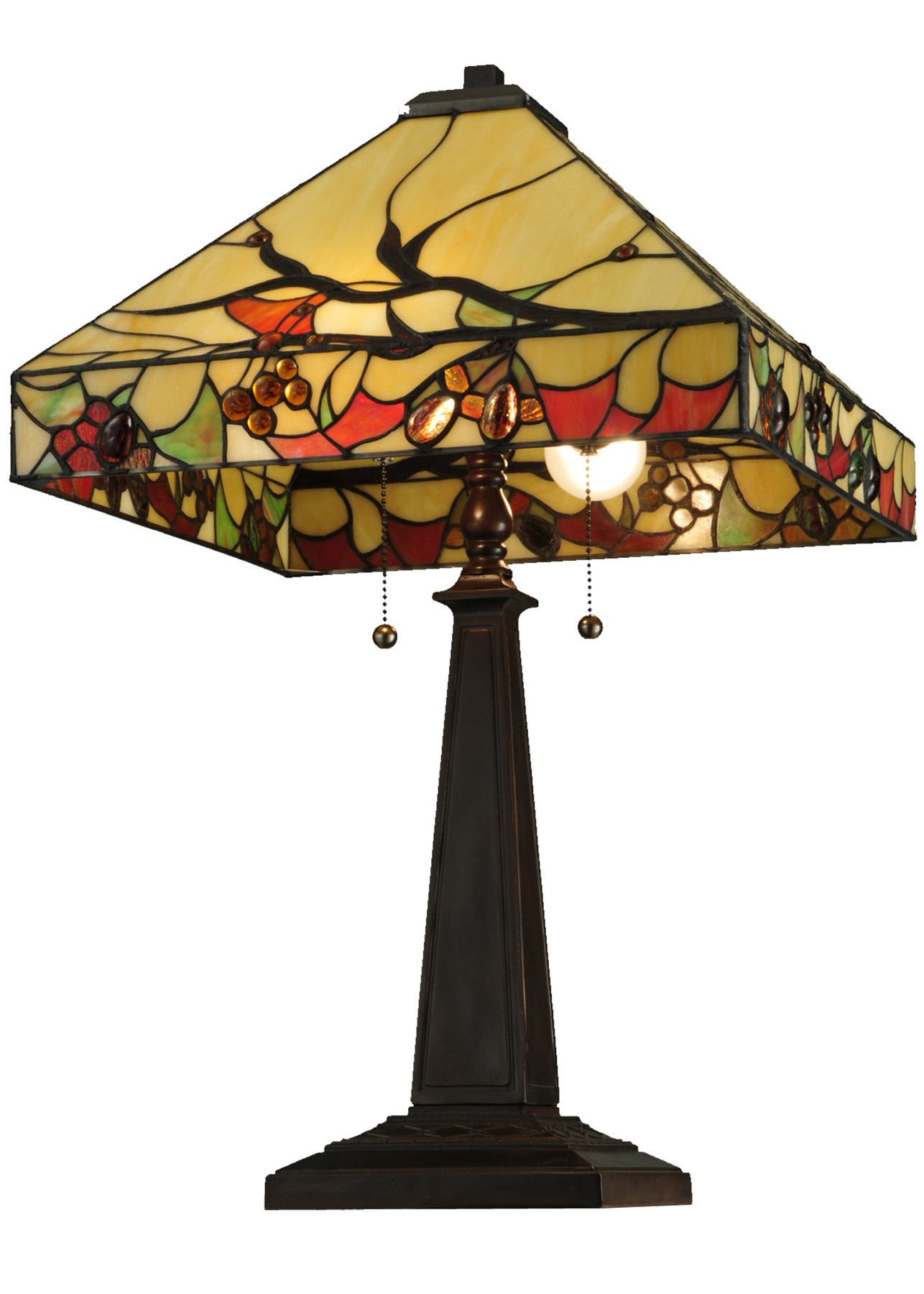 Meyda 131507 Woodland Berries Table Lamp